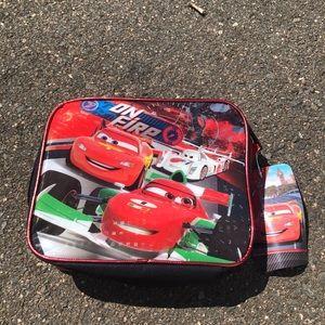 DISNEY PIXAR NWT Boy's Lightning McQueen Lunchbox